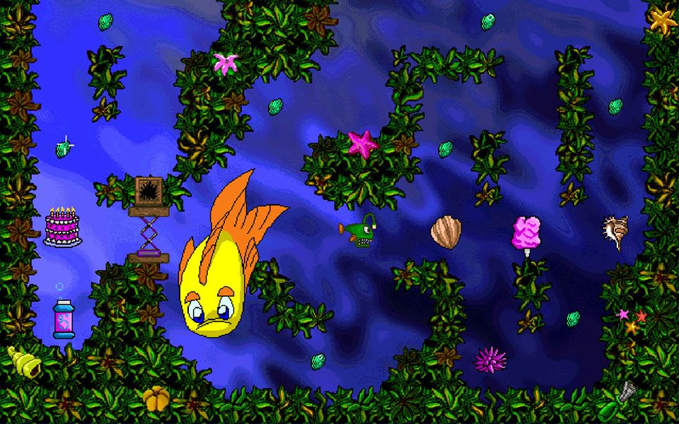 Picture of FREDDI FISH AND LUTHER'S MAZE MADNESS ( 數碼版 )