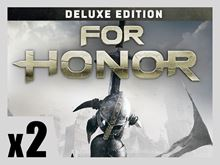 Picture of FOR HONOR - Deluxe Edition PRE-ORDER 2 COPIES BUNDLE ( digital version )