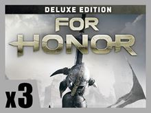Picture of FOR HONOR - Deluxe Edition PRE-ORDER 3 COPIES BUNDLE ( digital version )