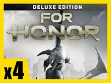 Picture of FOR HONOR - Deluxe Edition PRE-ORDER 4 COPIES BUNDLE ( digital version )