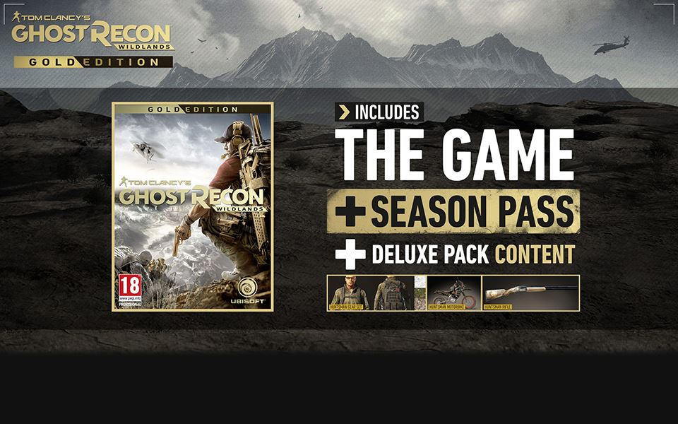 Picture of TOM CLANCY'S GHOST RECON WILDLANDS - Gold Edition Year 1 ( digital version )