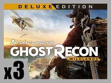 Picture of TOM CLANCY'S GHOST RECON WILDLAND - Deluxe Edition PRE-ORDER 3 COPIES BUNDLE ( digital version )