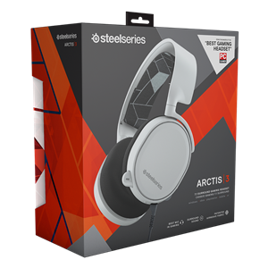 图片 STEELSERIES ARCTIS 3 (WHITE) HEADSET