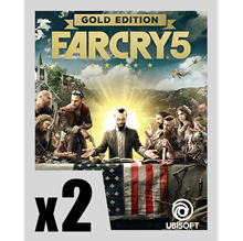 Picture of FAR CRY 5 GOLD EDITION PRE-ORDER 2 COPIES BUNDLE ( digital version )