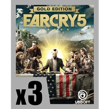 Picture of FAR CRY 5 GOLD EDITION PRE-ORDER 3 COPIES BUNDLE ( digital version )