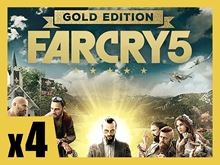 Picture of FAR CRY 5 GOLD EDITION PRE-ORDER 4 COPIES BUNDLE ( digital version )