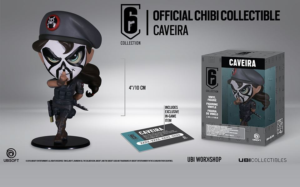Picture of SIX COLLECTION: CAVEIRA 遊戲公仔